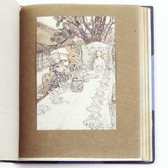Alice's Adventures in Wonderland, Lewis Carroll, Illustrated by Arthur Rackham, First Rackham edition