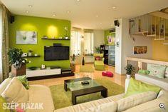 Vidám színek, barátságos hangulat - Szép Házak