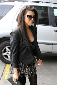 I love kourtney and her style