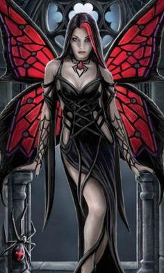 Anne Stokes - Gothic Fairy