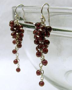 garnet grape cluster