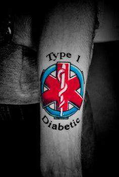 Type 1 diabetes tattoo designs blood type tattoo for Type 2 diabetes tattoo