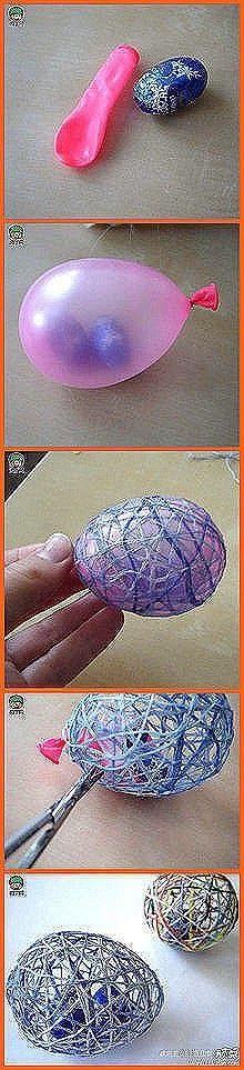 ARTE COM QUIANE - Paps,Moldes,E.V.A,Feltro,Costuras,Fofuchas 3D: Ovo de Sisal com mini ovos dentro