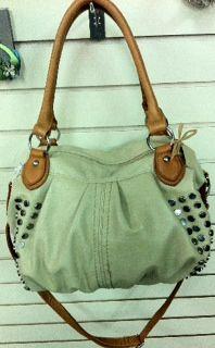 Copper sequin purse