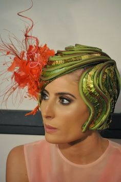 Oaks Day Fashions on the Field Millinery #millinery #judithm #hats