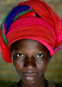 Woman from the African Ivory coast