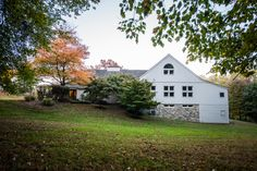 Lovely fall view of The Barns