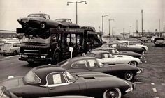 Series 1 E-types being shipped