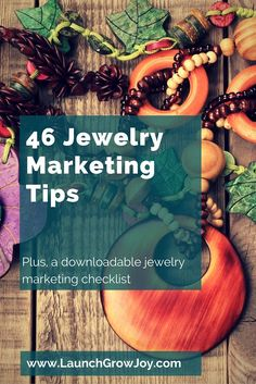 46 Jewelry Marketing Tips