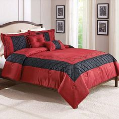 Better Homes and Gardens Ruby 5-Piece Comforter Set - Walmart.com