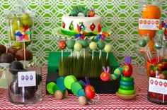 """Photo 1 of 22: The Very Hungry Caterpillar, by Eric Carle / Baby Shower/Sip & See """"Jeniffer & Jeremy's Baby Shower!"""" 