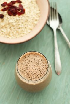 Banana Coco-Chai Power Smoothie by flavourfiesta : With chia seeds and ginger too! #Smoothie #Banana_Coco_Chai_Smoothie