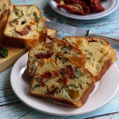 Bögrés házi sajtos ropi recept Quiche, French Toast, Breakfast, Recipes, Food, Morning Coffee, Essen, Quiches, Eten