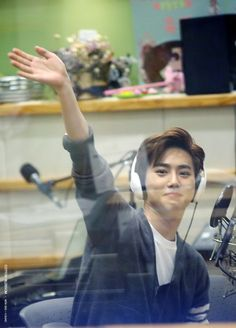 Suho - 150415 KBS-R Cool FM Yu In Na's Volume Up Credit: Cotton Blossom. (KBS-R Cool FM 유인나의 볼륨을 높여요)