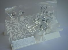 Spellbinders Shapeabilities Botanical Acetate Stand Card	  this is beautiful						  					  													Posted on September 21, 2012