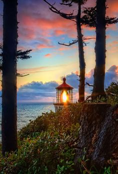 Heceta Head Lighthouse / We Heart It on imgfave