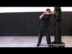 Krav Maga - Elbow #2 (How to Get Power) -- Warning: Cussing close to the end.