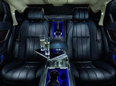 Jaguar XJ Ultimate Rear Interior