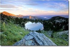 Cliff Lake in the Cabinet Mountains Wilderness Area, Kootenai National Forest