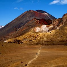 Check out this slideshow Tongariro Crossing in this list One Week in New Zealand