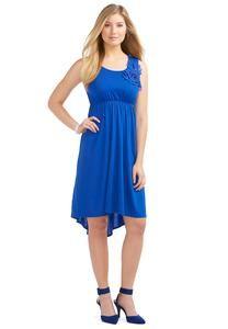 1cf7980afa31 Embellished High – Low Tank Dress – Plus Casual Cato Fashions Gussied Up,  Tank Dress