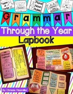 Grammar Lapbook: Through the Year Interactive Kit