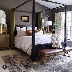 Master Bedroom Makeover, Master Bedroom Design, Bedroom Inspo, Home Bedroom, Bedroom Furniture, Bedroom Decor, Bedroom Ideas, Colors For Master Bedroom, Masculine Master Bedroom