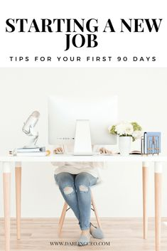 Starting a New Job: Your First 90 Days - Education Job - Ideas of Education Job - Starting a new job: tips for the first 90 days. How to get your job and career started off right! Job Interview Tips, Job Interview Questions, Job Career, Career Advice, Career Change, First Day New Job, First Job Tips, New Day, New Job Quotes