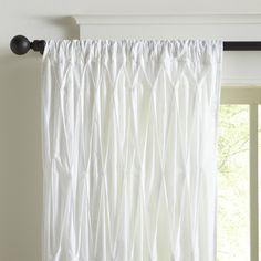 Estella Cotton Voile Single Curtain Panel #birchlane