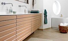 Badeværelse – Finn inspirasjon til ditt nye badeværelse Grant House, Crittall, Shower Fittings, Duravit, Shower Panels, Rubber Flooring, Bathroom Cabinets, Master Bathroom, Design Bathroom