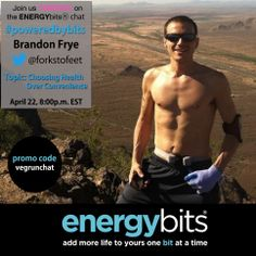 Join us on Twitter TUESDAY April 22nd at 8PM EST for our #PoweredbyBits Chat with host Brandon Frye!