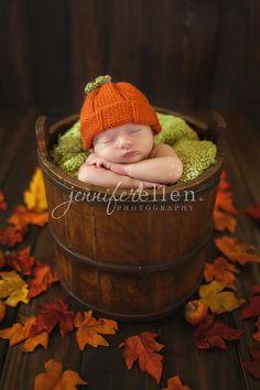Lil Pumpkin- fall infant photo shoot.