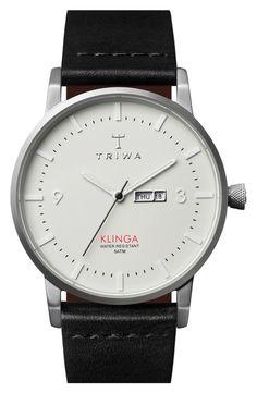 TRIWA 'Klinga' Watch, 38mm