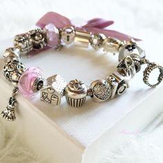 ...Il mio Pandora completo Felice giornata a tutte #goodmorning #Pandora #bracelet