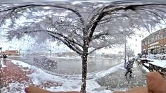 Snowing in 360!
