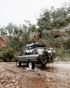 Jeep Racks, Jeep Suv, Range Rover Classic, Cars Land, Off Road Camper, Range Rover Evoque, Expedition Vehicle, Mini Trucks, Land Rover Discovery
