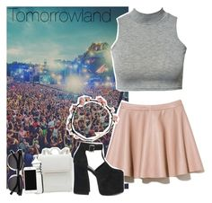 """""""Tomorroland"""" by martii-alcaraz-14 ❤ liked on Polyvore featuring TOMORROWLAND, Sagaform, Yves Saint Laurent, musicfestival, electro and Tomorrowland"""