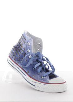 Vintage Sneaker Light Studded blau: HTC, Los Angeles, USA * Onlineshop www.lapurpura.de