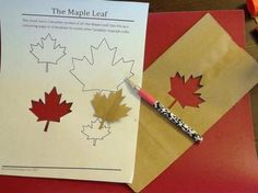 Canada Day Craft Ideas: Use this Free Maple Leaf Printable to create Crafts for Canada Day Canada Day Crafts, Create And Craft, Colouring, Summer Fun, Cool Kids, Red And White, Diy And Crafts, Preschool, Printable