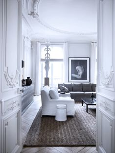 Gilles et Boissier Interior Design of a French Apartment. Reposted by Habitually Chic Blog