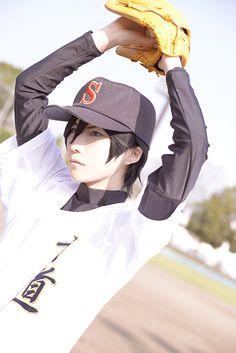 Satoru Furuya (kuryu - WorldCosplay) | Daiya no Ace #anime #cosplay