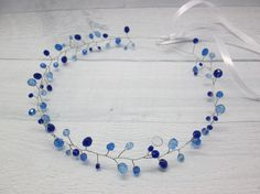 Something blue For bride blue Christmas gift Hair by BuyMeNowShop
