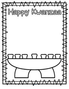 ***FREE*** This is a simple cut and paste activity for a Kwanzaa theme. Color, cut and paste the candles onto the kinara. There are 7 candles. Color one candle black, 3 candles red, and 3 candles green.