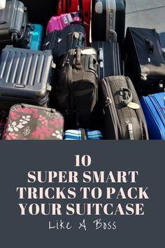 We're here to help you pack like a pro. There are smart ways to simplify the task of making sure you have everything, without bringing along too much, and fitting it all into your carry-on.  #back #packsuitcase #travel #hacks #travelhacks #packbags