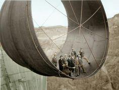 Turbina de la presa hoover... 1930