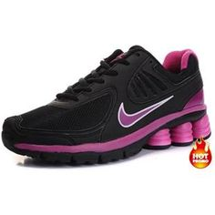 Womens Nike Shox R6 Black Pink R6 Second Nike Shoes Cheap 0047449c9