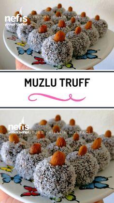Almond Recipes, Pie Recipes, Dessert Recipes, Desserts, Turkish Breakfast, Turkish Recipes, Truffles, Food Art, Tea Time
