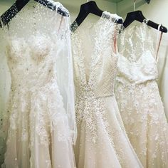 #thisjustin New #sabrinadahan gowns in the Atelier!  #fairytalesdocometrue