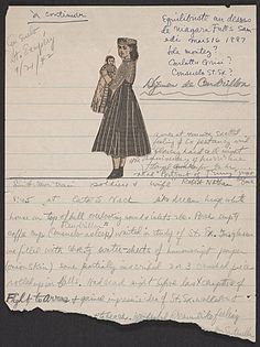Citation: Handwritten sheet with collage element, 1942 Sept. 21 . Joseph Cornell papers, Archives of American Art, Smithsonian Institution.