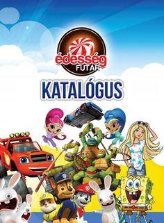 "Cover of ""Édesség Futár Katalógus"" Primary School, Video Game, Marvel, Cover, Artwork, Books, Movie Posters, Upper Elementary, Libros"